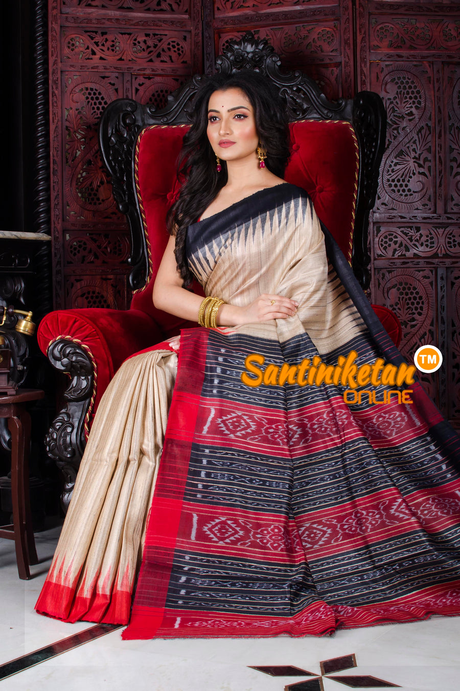 Traditional Gopalpur Ghicha Tussar Silk Saree SN20197264