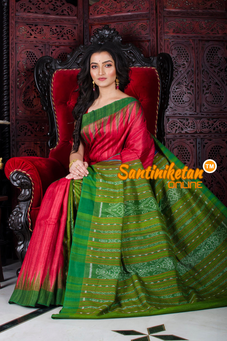 Traditional Gopalpur Tussar Ghicha Silk Saree SN20197266