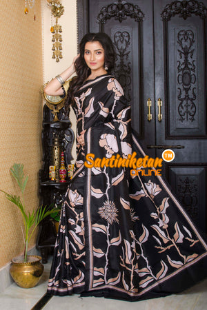 Kantha Stitch Saree SN20195695