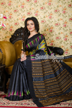 Traditional Gopalpur Tussar Ghicha Silk Saree SN20197348