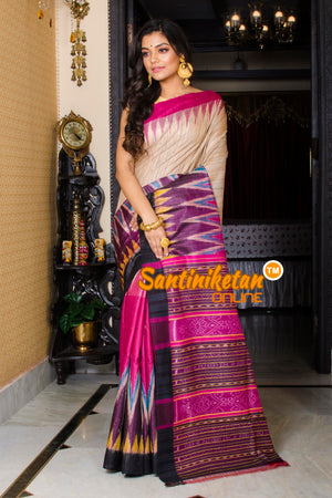 Traditional Gopalpur Tussar Ghicha Silk Saree SN20197439