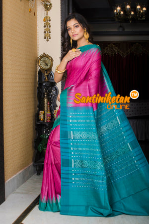 Traditional Gopalpur Tussar Ghicha Silk Saree SN20195959