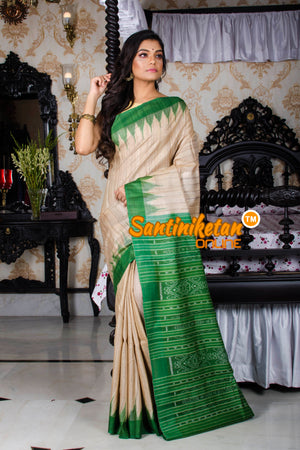 Traditional Gopalpur Tussar Ghicha Silk Saree SN20197465