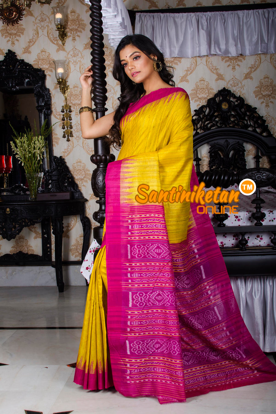 Traditional Gopalpur Tussar Ghicha Silk Saree SN20195961