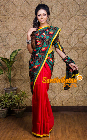 Kantha Stitch Saree SN201960