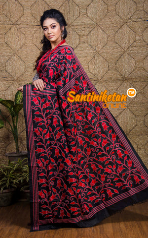 Kantha Stitch Saree SN20197575