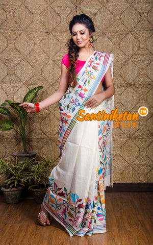 Kantha Stitch Saree SN20197603