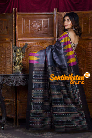 Traditional Gopalpur Tussar Ghicha Silk Saree SN20198479