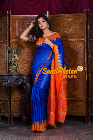 Traditional Gopalpur Tussar Ghicha Silk Saree SN20198553