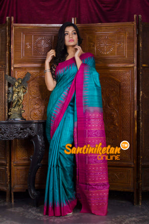 Traditional Gopalpur Tussar Ghicha Silk Saree SN20198556