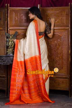 Traditional Gopalpur Tussar Ghicha Silk Saree SN20198562