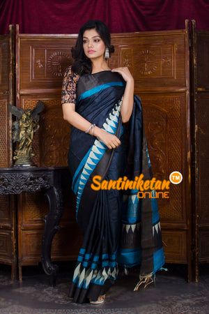 Hand Painted Tussar Silk SN20198580
