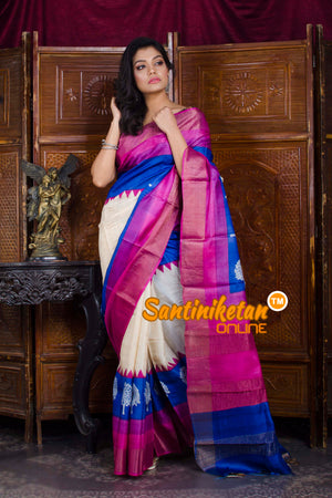 Hand Painted Tussar Silk SN20198583