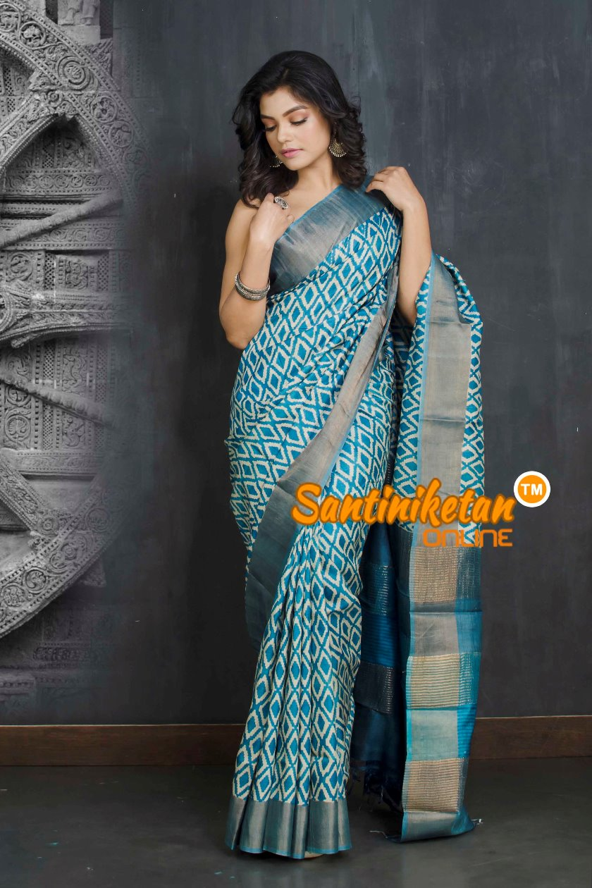 Hand Painted Tussar Silk SN20208972