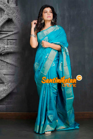 Hand Painted Tussar Silk SN20208996