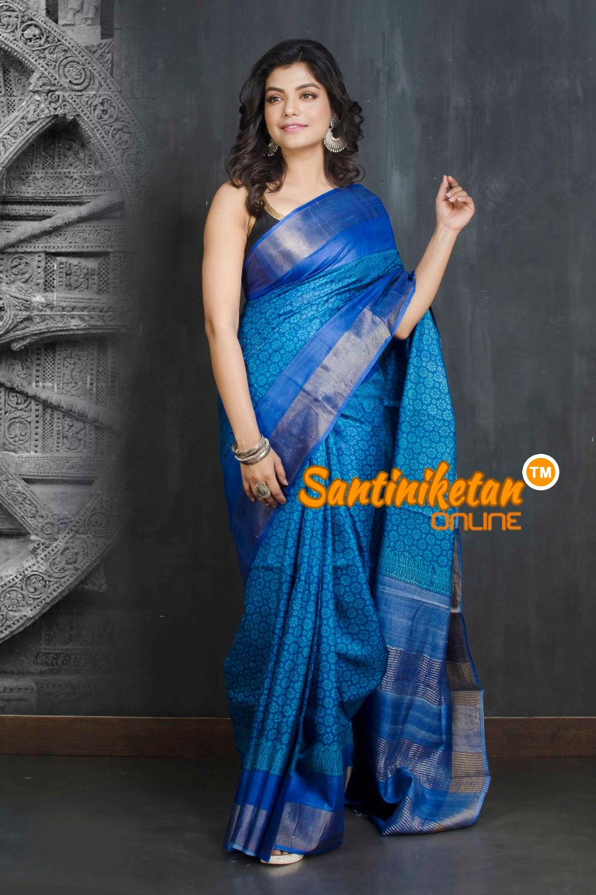 Hand Painted Tussar Silk SN20208999