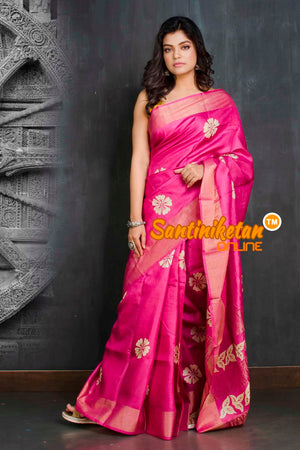 Hand Painted Tussar Silk SN20209261