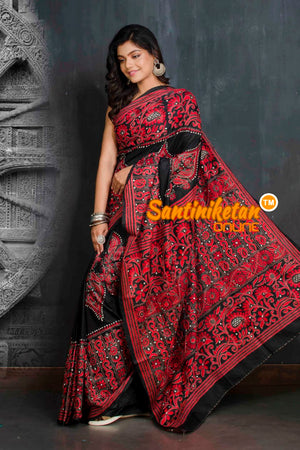 Kantha Stitch Saree SN20209333