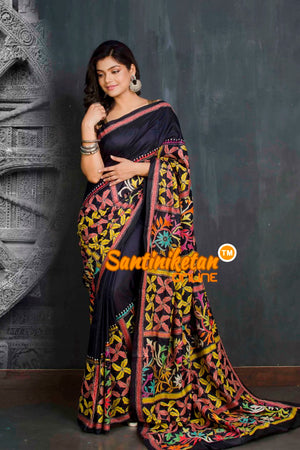 Kantha Stitch Saree SN20209339