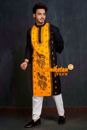 Cotton Kantha Kurta SN20209349