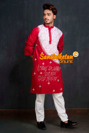 Cotton Kantha Kurta SN20209351