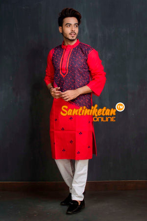 Cotton Kantha Kurta SN20209355