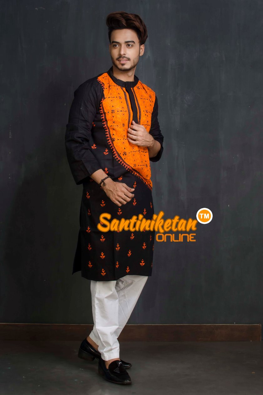 Cotton Kantha Kurta SN20209374