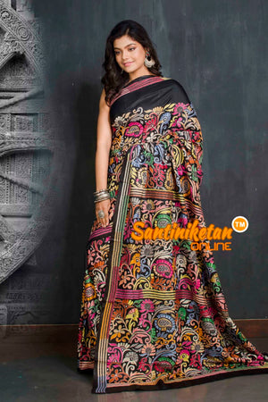 Kantha Stitch Saree SN20209376