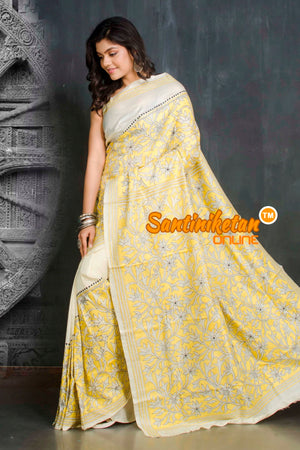 Kantha Stitch Saree SN20209379