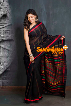 All Over Tribal Work Begampuri Saree SN20209388