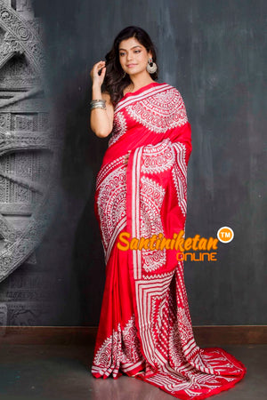 Kantha Stitch Saree SN20209434