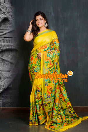 Kantha Stitch Saree SN20209440