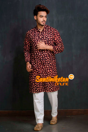 Cotton Printed Kurta SN20209485