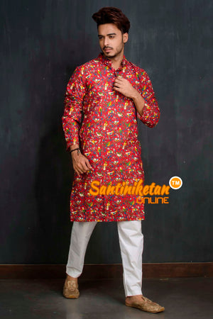 Cotton Printed Kurta SN20209489