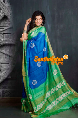Hand Painted Tussar Silk SN20209547