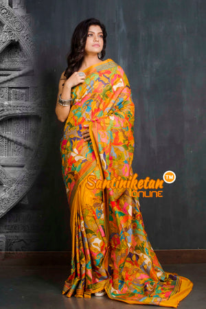 Kantha Stitch Saree SN20209550