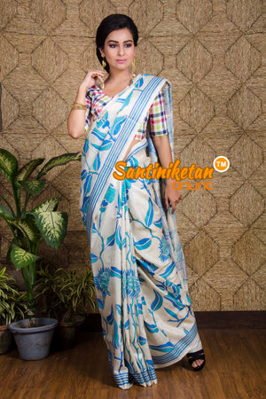 Kantha Stitch Saree SN20199714