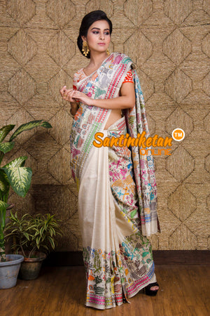 Kantha Stitch Saree SN20199777