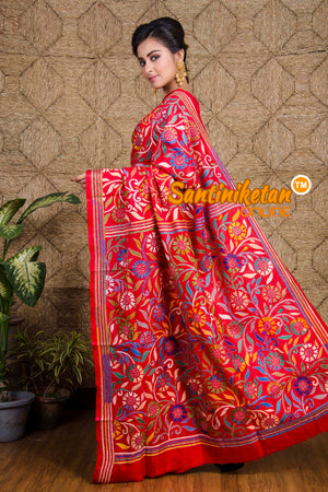 Kantha Stitch Saree SN20199804