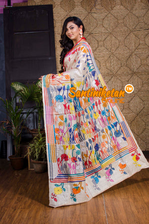 Kantha Stitch Saree SN20199950