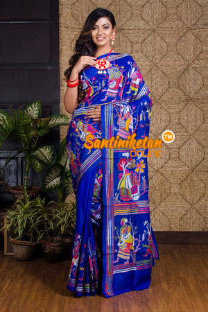 Kantha Stitch Saree SN20199953
