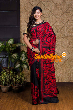 Kantha Stitch Saree SN20199971