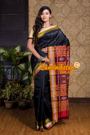 Traditional Ikkat Silk Saree SN20199995