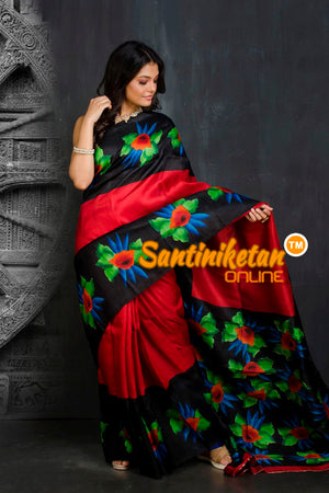 Hand Made Design On Murshidabad Silk SN20201926