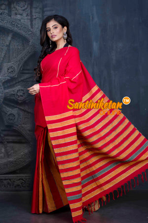 Pure Cotton Khesh Saree SN20202536