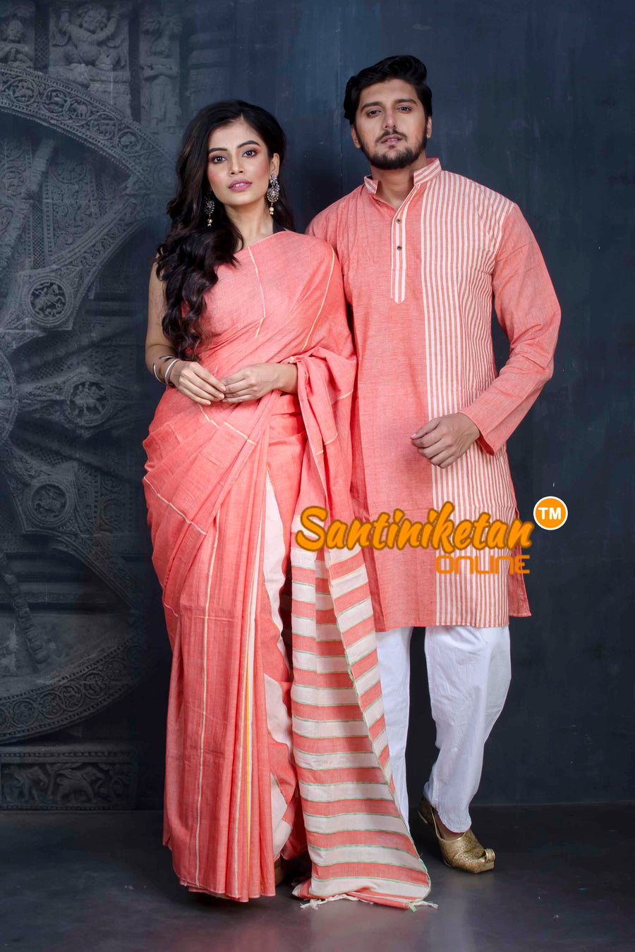 Couple Set - Santiniketan Exclusive SN20202549