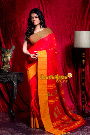 Handwoven Cotton Saree SN20203431