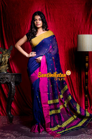 Handwoven Cotton Saree SN20203434