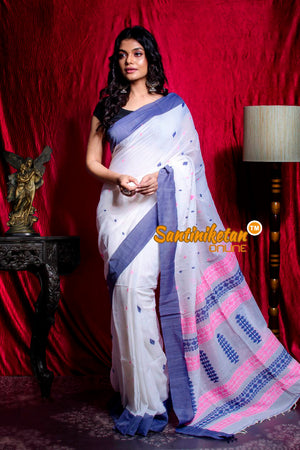 Handwoven Cotton Saree SN20203443
