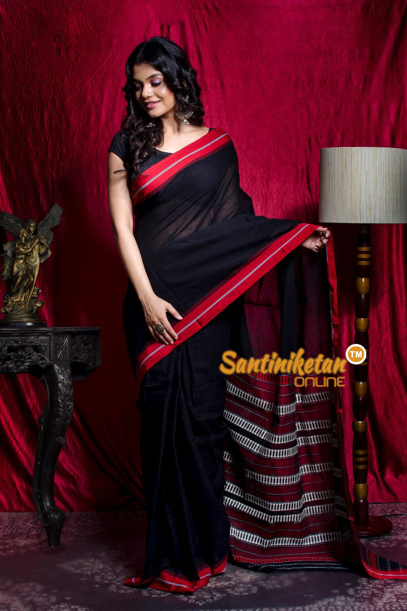 Tribal Work With Naksha Anchal Begampuri Saree SN20203449